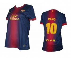 Lionel Messi FC Barcelona Trikot Home Damen 2012/13 Nike