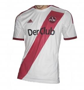 1. FC Nürnberg Trikot 2015/16 Away Adidas Gr.S