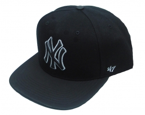 New York Yankees MLB Snapback Cap Night Terror Caption 47 Brand
