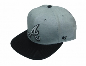 Atlanta Braves MLB Snapback Cap Riverside Captain 47 Brand