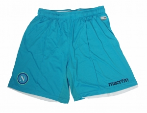 SSC Neapel Trikothose Shorts Euro 2014/15 Macron