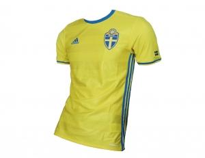 Schweden Trikot Nationalmannschaft 2016 Adidas