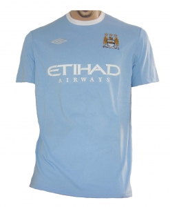Manchester City Trikot Home 2009/10 Umbro 2.Wahl