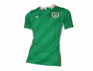 Irland Trikot Home Nationalmannschaft 2016/17 Umbro Player Issue ohne Sponsor