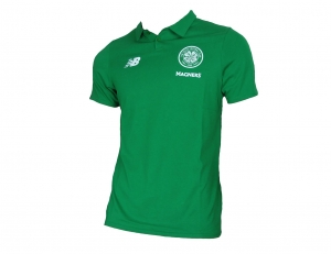 Celtic Glasgow Poloshirt New Balance Green 2017/18