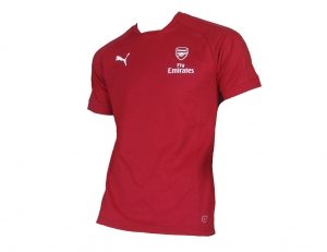 Arsenal London Casual T-Shirt Performance Puma 2017/18 Red