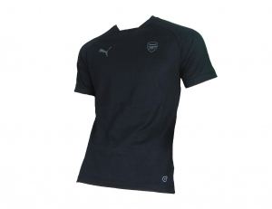 Arsenal London Casual T-Shirt Performance Puma 2017/18 Black