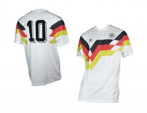 Deutschland DFB Retro Trikot 1990 Home Adidas 10