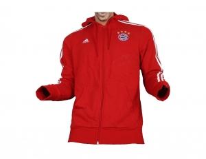 FC Bayern München Kapuzenjacke Full Zip Hoodie Adidas