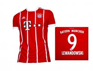 FC Bayern München Trikot Home 2017/18 Adidas Lewandowski