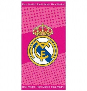 Real Madrid Badetuch 70 x 140cm Pink