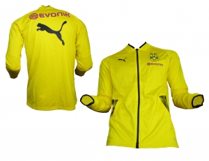 Borussia Dortmund Trainingsjacke Stadium Cyber Yellow Puma 2017/18
