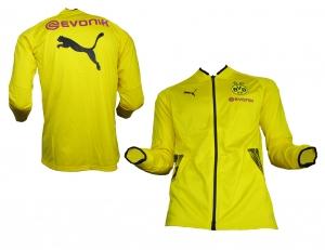 Borussia Dortmund Trainingsjacke Stadium Cyber Yellow Puma 2017/18