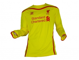 Liverpool FC Trikot 2014/15 Away Warrior Longsleeve