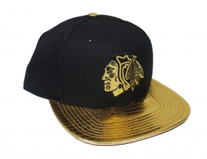 Chicago Blackhawks NHL Snapback Cap Tragic Ride Gold 47 Brand