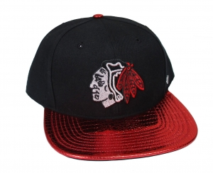 Chicago Blackhawks NHL Snapback Cap Tragic Ride Red 47 Brand
