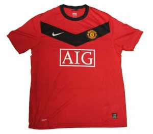 Manchester United Shirt 09/10 Home Nike
