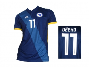 Bosnien Herzegowina Trikot 2018/19 Home Adidas Edin Džeko