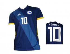 Bosnien Herzegowina Trikot 2018/19 Home Adidas Miralem Pjanić