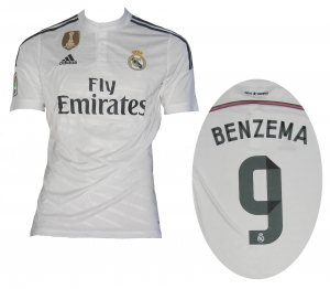 Real Madrid Trikot 2014/15 Home Adidas Benzema