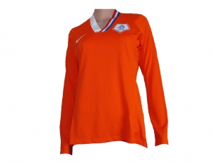 Damen Trikot Niederlande Home Nike 2008/11 Longsleeve Player Issue