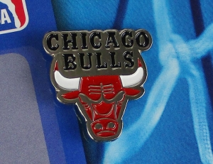 Chicago Bulls NBA Anstecker/Pin
