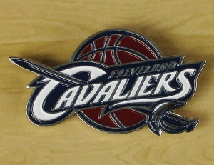 Cleveland Cavaliers NBA Anstecker/Pin