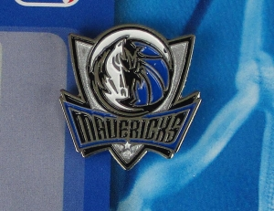 Dallas Mavericks NBA Anstecker/Pin