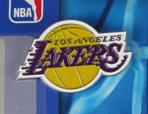 Los Angeles Lakers NBA Anstecker/Pin
