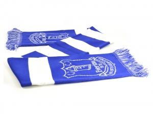 Everton FC Jacquard Balken Fanschal