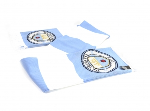 Manchester City Jacquard Balken Fanschal