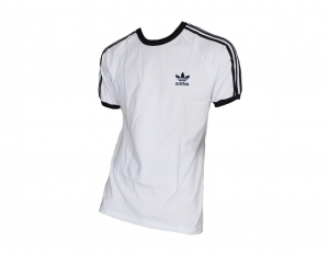 Adidas Originals 3-Stripes T-Shirt Trefoil Adidas White/Black