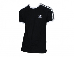 Adidas Originals 3-Stripes T-Shirt Trefoil Adidas Black/White