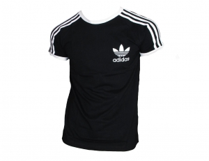 Adidas Originals California T-Shirt Trefoil Adidas Black/White