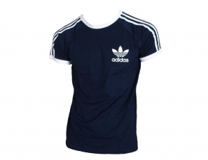 Adidas Originals California T-Shirt Trefoil Adidas Navy/White