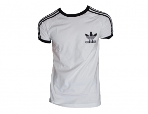 Adidas Originals California T-Shirt Trefoil Adidas White/Black