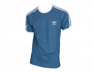 Adidas Originals 3-Stripes T-Shirt Trefoil Adidas Blue/White