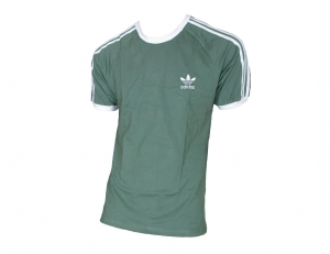 Adidas Originals 3-Stripes T-Shirt Trefoil Adidas Light Green/White