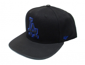 LA Dodgers MLB Snapback Cap Night Terror Caption 47 Brand