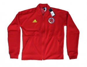 Kolumbien Fußballnationalmannschaft FCF Trainingsjacke ZNE Adidas 2018