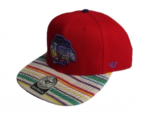 Chicago Blackhawks NHL Snapback Cap Warchild 47 Brand