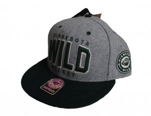 Minnesota Wild Hockey NHL Snapback Cap Cobblestone 47 Brand