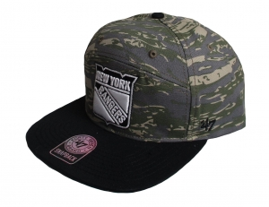 New York Rangers NHL Snapback Cap Hoopes 47 Brand