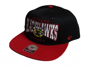 Chicago Blackhawks NHL Snapback Cap Sneaky Pete 47 Brand