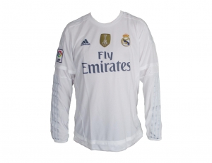 Real Madrid Trikot Home 2015/16 Longsleeve Adidas Patch