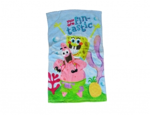 SpongeBob Schwammkopf Kinder Handtuch