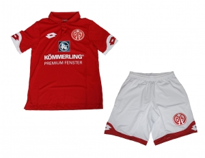 FSV Mainz 05 Trikotset 2016/17 Home Lotto Kindergröße