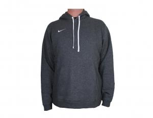 Nike Club 19 Fleece Kapuzenpullover Hoodie Grau