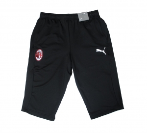 AC Mailand 3/4 Training Shorts 2019/20 Puma Black