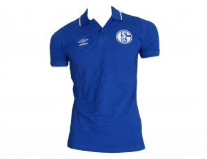 FC Schalke 04 Tipped Polo Shirt Umbro